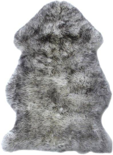 BOZZ Lammeskinn langhårete, Grey Mist