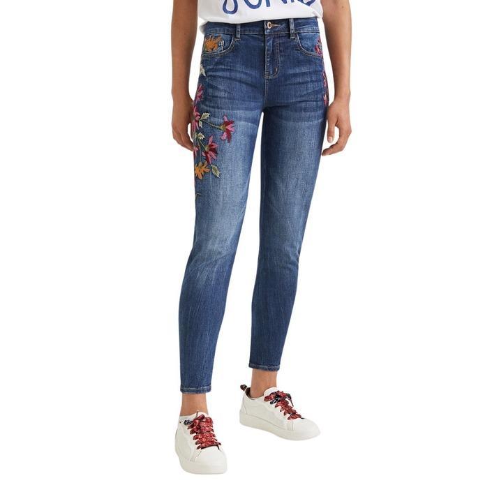 Desigual Women's Jeans Blue 305116 - blue 42