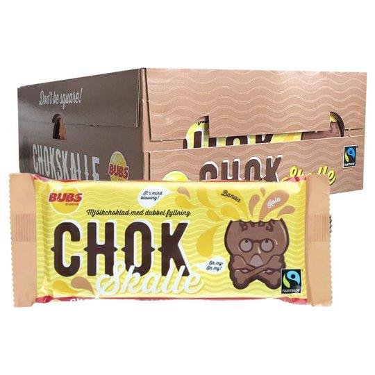 Hel Låda Mjölkchoklad Banan & Kola 20 x 100g - 67% rabatt