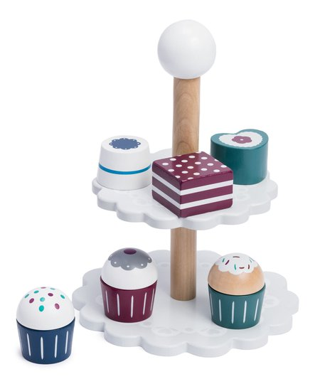 Hobie & Bear Kjøkkenleker Cupcakeset
