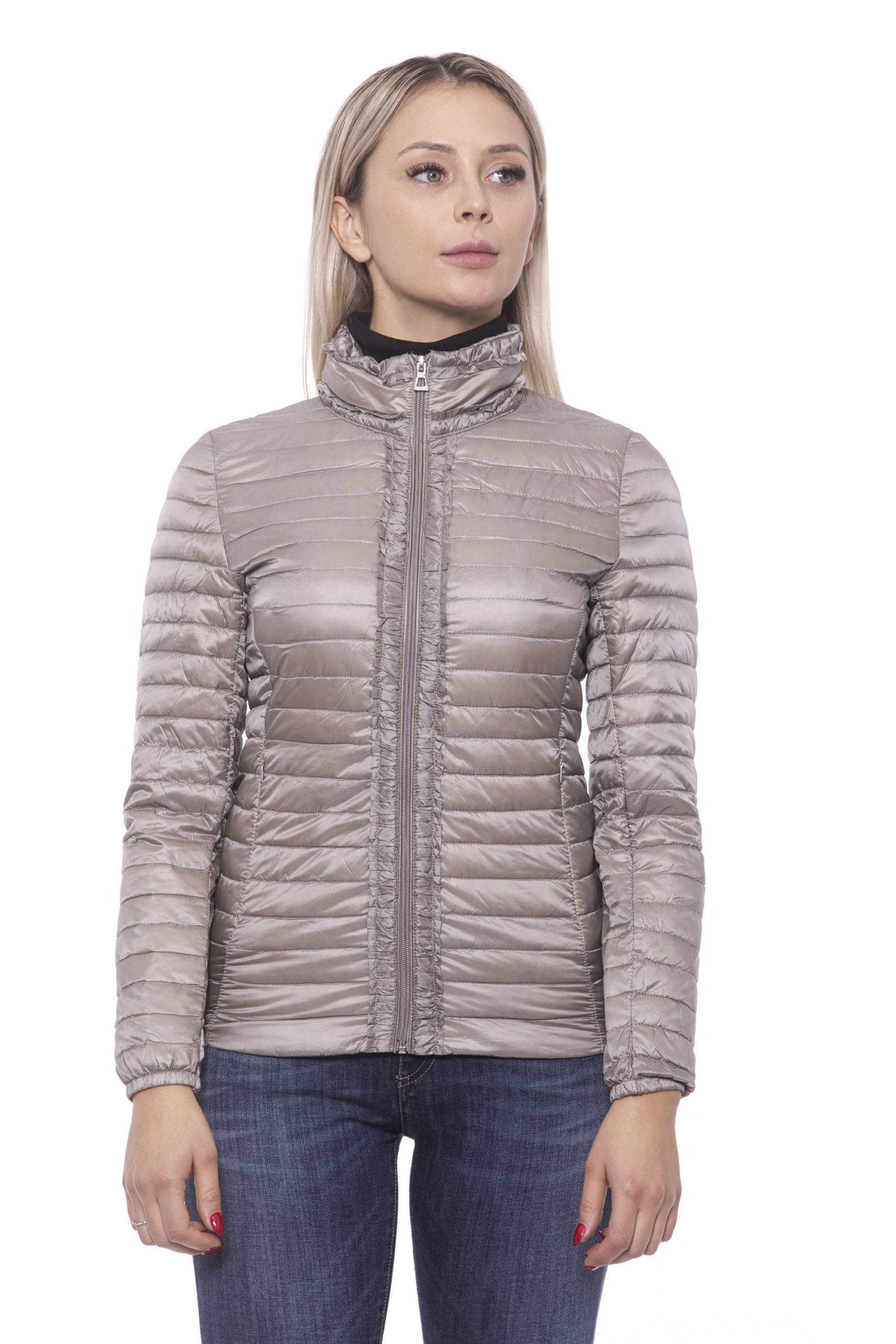 19V69 Italia Women's Jacket Beige 191388311 - S