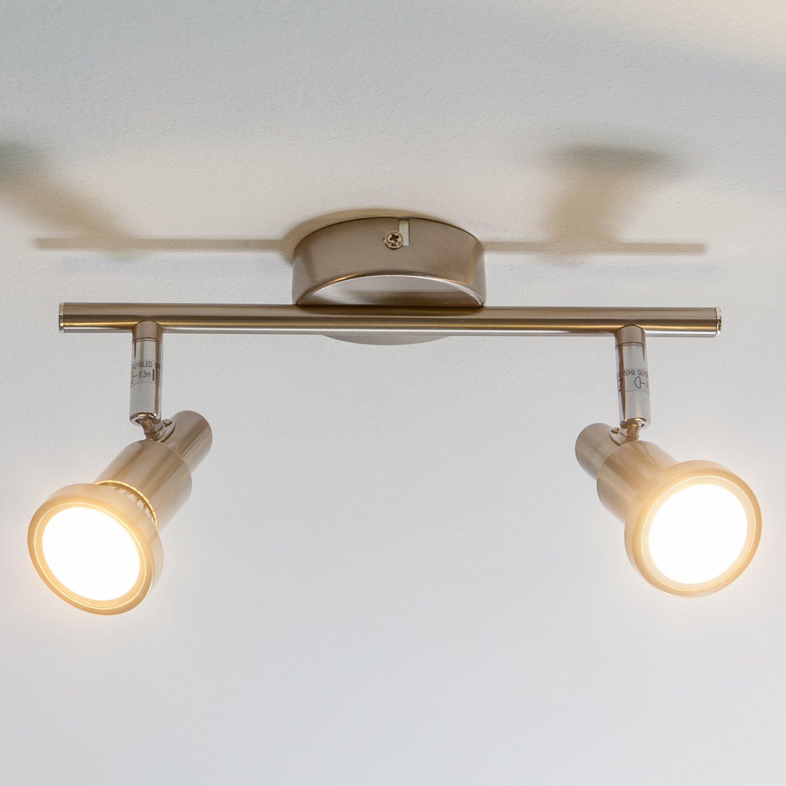 Aron - LED-taklampe med 2 lys