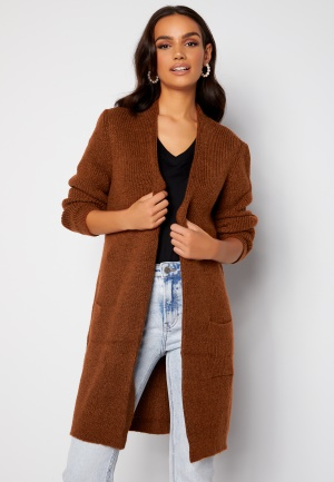 ONLY Jade L/S Cardigan Knit Ginger Bread XS