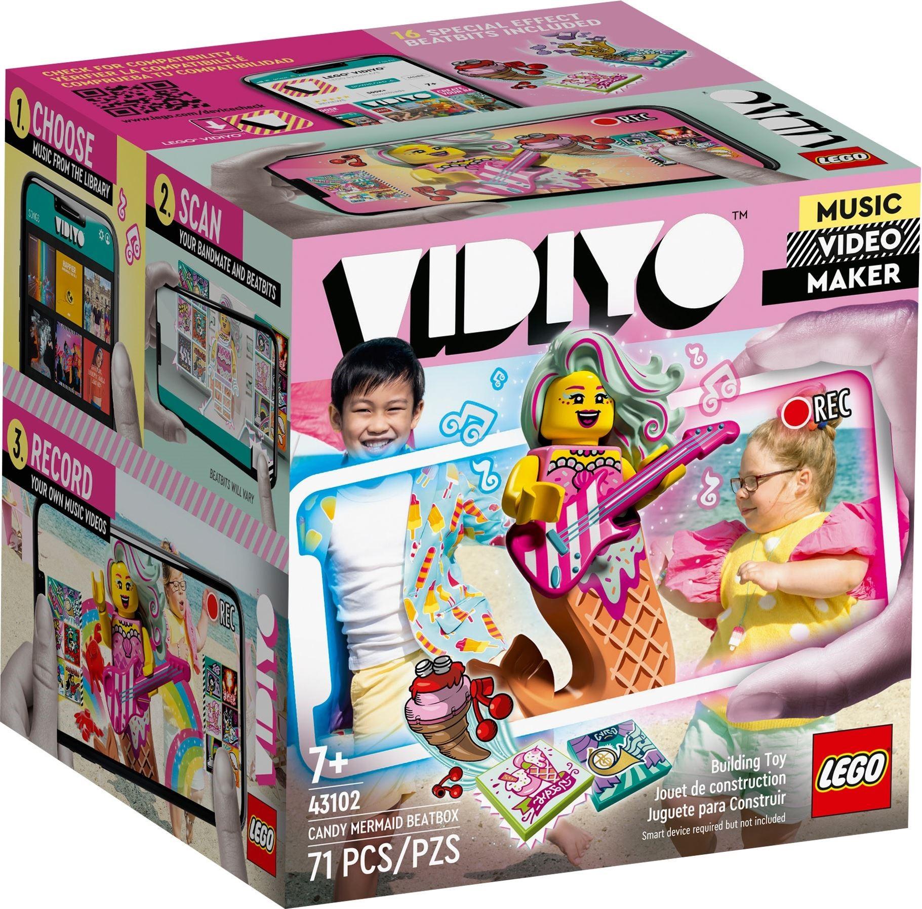 LEGO VIDIYO - Candy Mermaid BeatBox (43102)