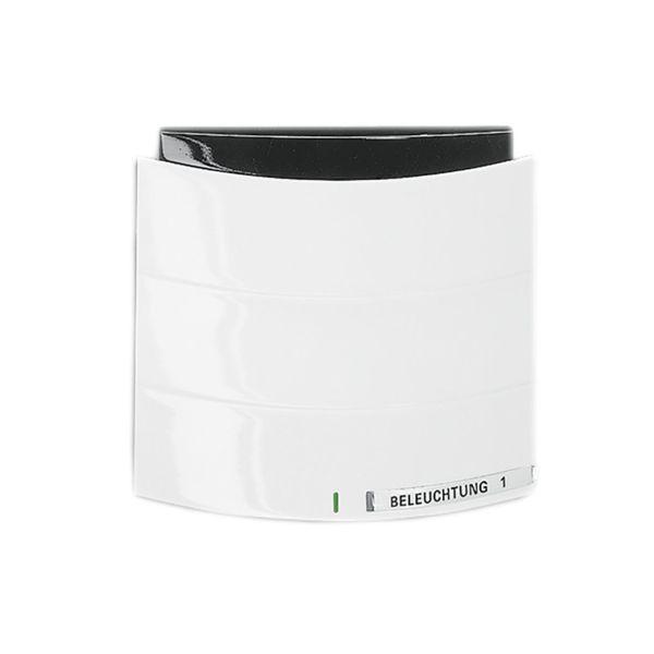 ABB Busch-triton 6320-0-0004 Painike Infrapuna, 1-napainen KNX Käsittelemätön, kiiltävä, valkoinen