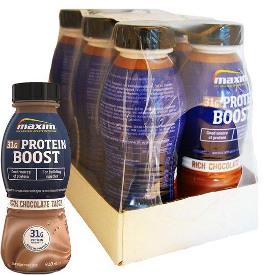 Hel Låda Proteindryck Choklad 6 x 310ml - 34% rabatt