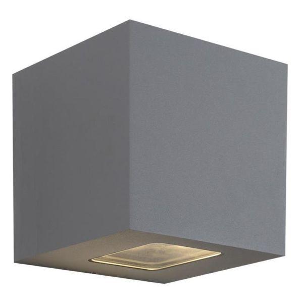Hide-a-Lite Cube XL I Seinävalaisin 3000K, 925 lm, 80°, 12,5W, IP65 Harmaa