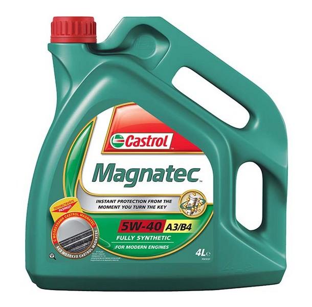 Moottoriöljy CASTROL 5W40 MAGNATEC A3/B4 4L