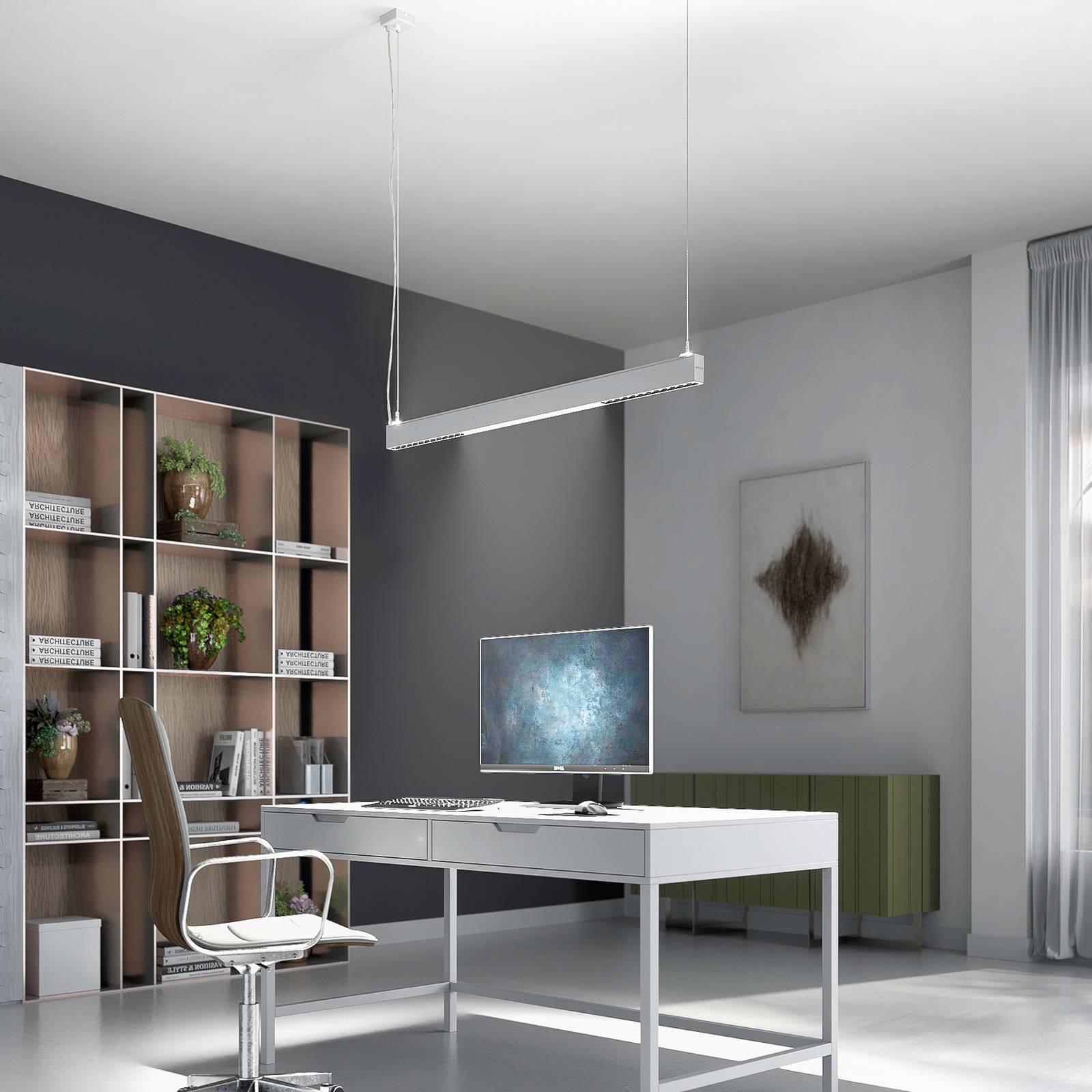 Arcchio Ingura -LED-riippuvalaisin toimistoon