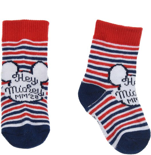 Disney Mikke Mus Sokker, Stripete 0-6 måneder