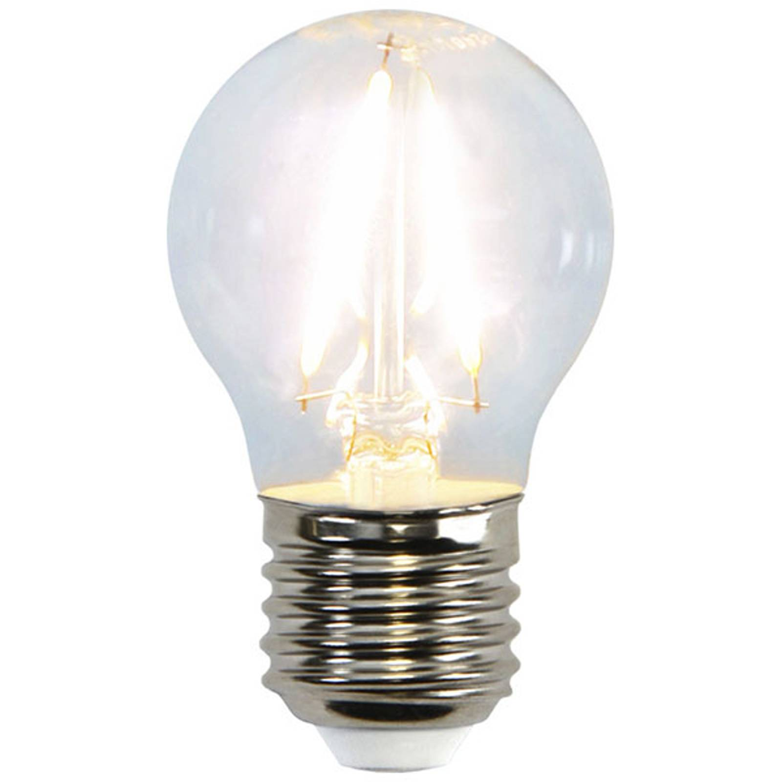 LED-miniglobe-lamppu E27 G45 2W 2 700 K