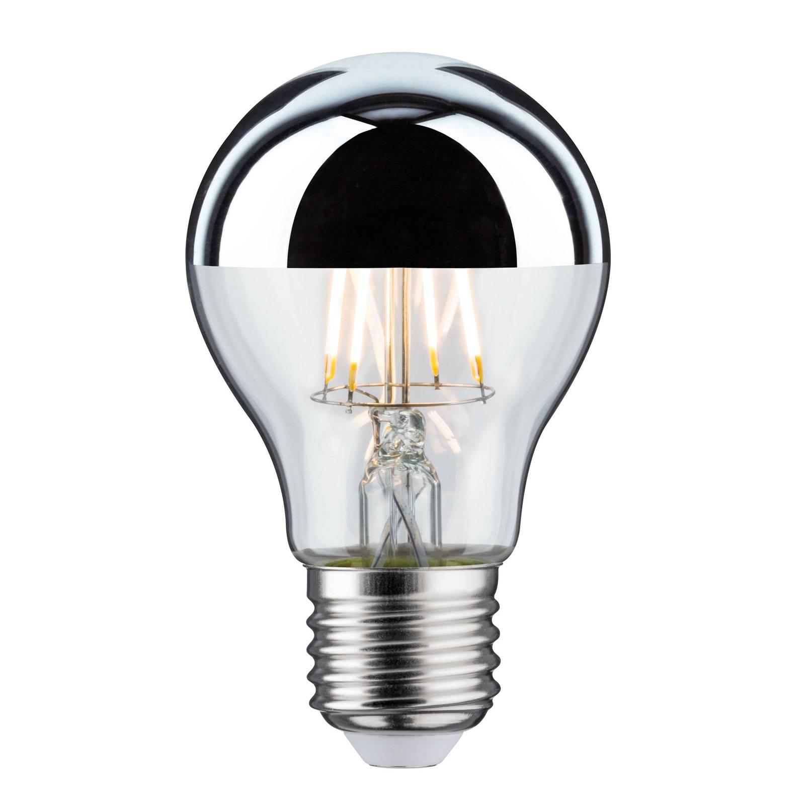 LED-lamppu E27 pisara 827 pääpeili 6,5 W