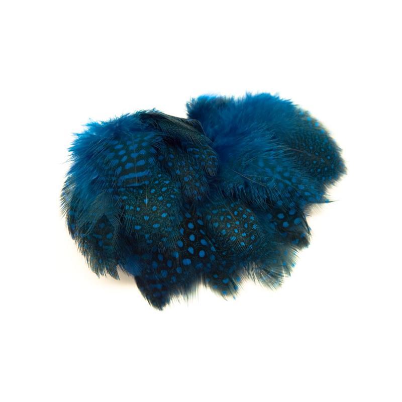 Guinea Fowl Strung - Silver Doctor Blue Perlehøne