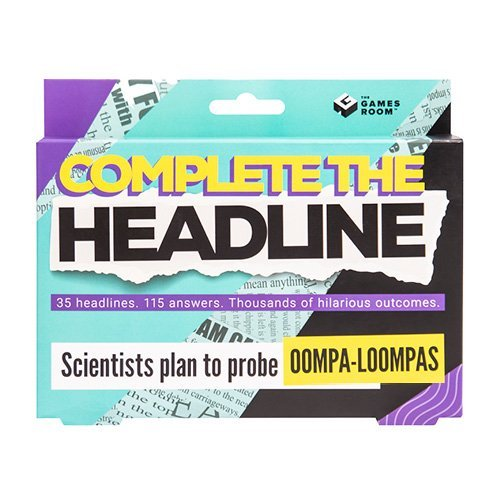 Complete The Headline Game (1839)