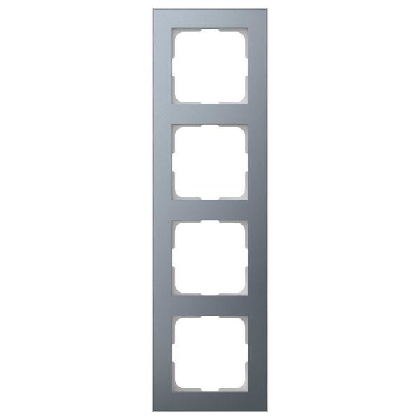 Elko EKO06623 Yhdistelmäkehys tina/alumiini 4-paikkainen