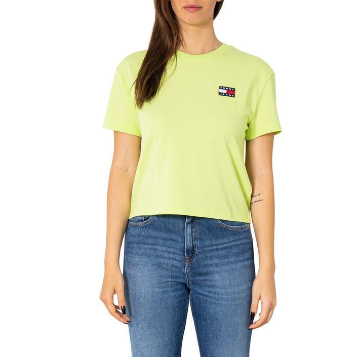 Tommy Hilfiger Jeans Women's T-Shirt Green 252177 - green L