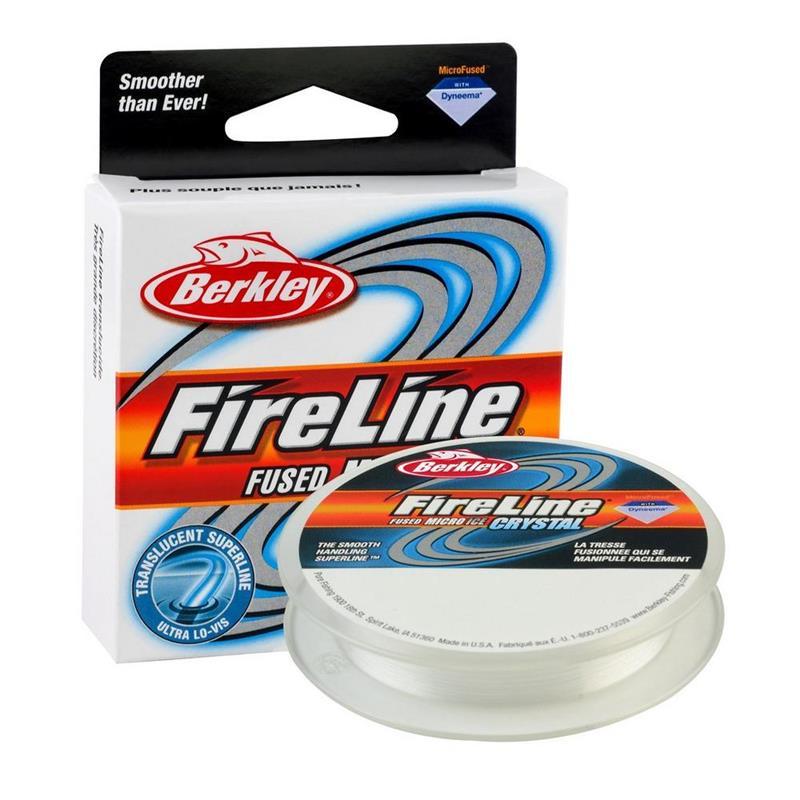 Berkley FireLine Micro Ice 0,10 mm Crystal