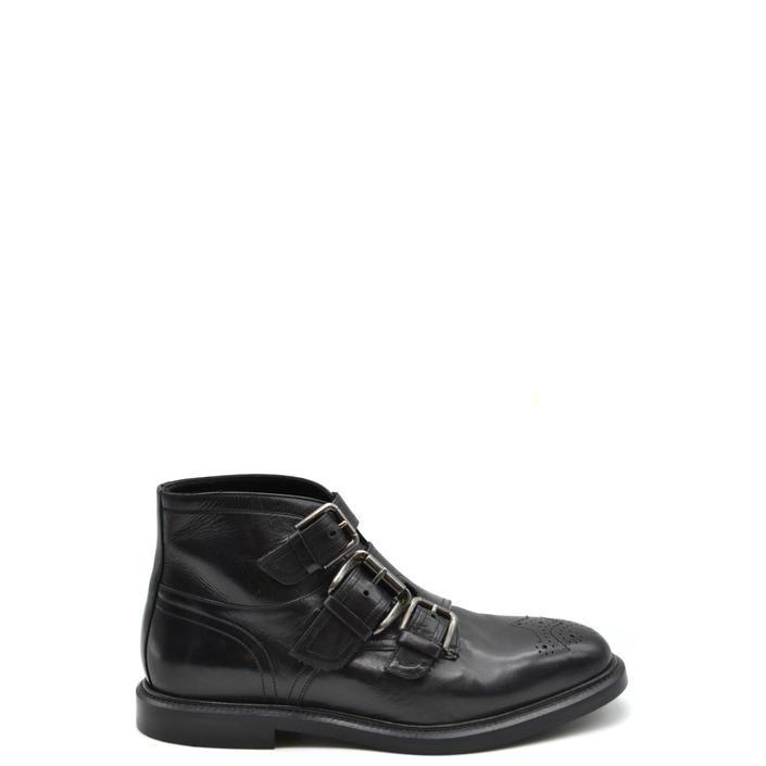 Dolce & Gabbana Men's Boots Black 167743 - black 40