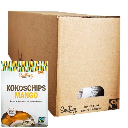 Hel Låda Kokoschips Mango 6 x 110g - 41% rabatt