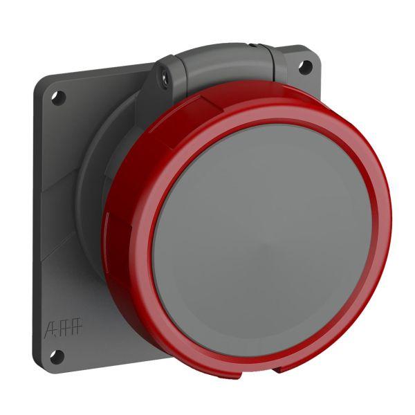 ABB 2CMA101296R1000 Seinäpistorasia IP67 Punainen, 16 A, 4-napainen