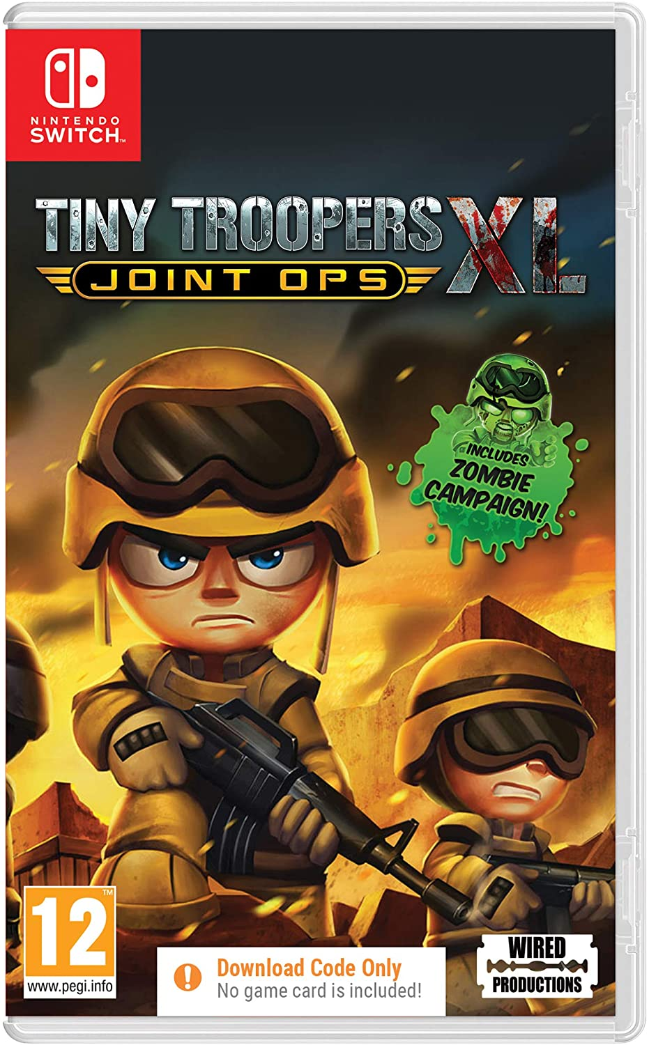 Tiny troopers XL (Code in a Box)