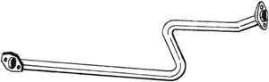 Pakoputki, Keskellä, NISSAN MICRA II, 2003099B00, 2003099B01, 2003099B02, 2003099B02KE, B003M99B0M, B003M99B0MGA, B003M99BOMGA