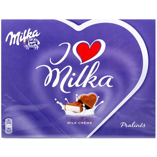 "Chokladpraliner ""Milk Crème"" 120g - 46% rabatt"