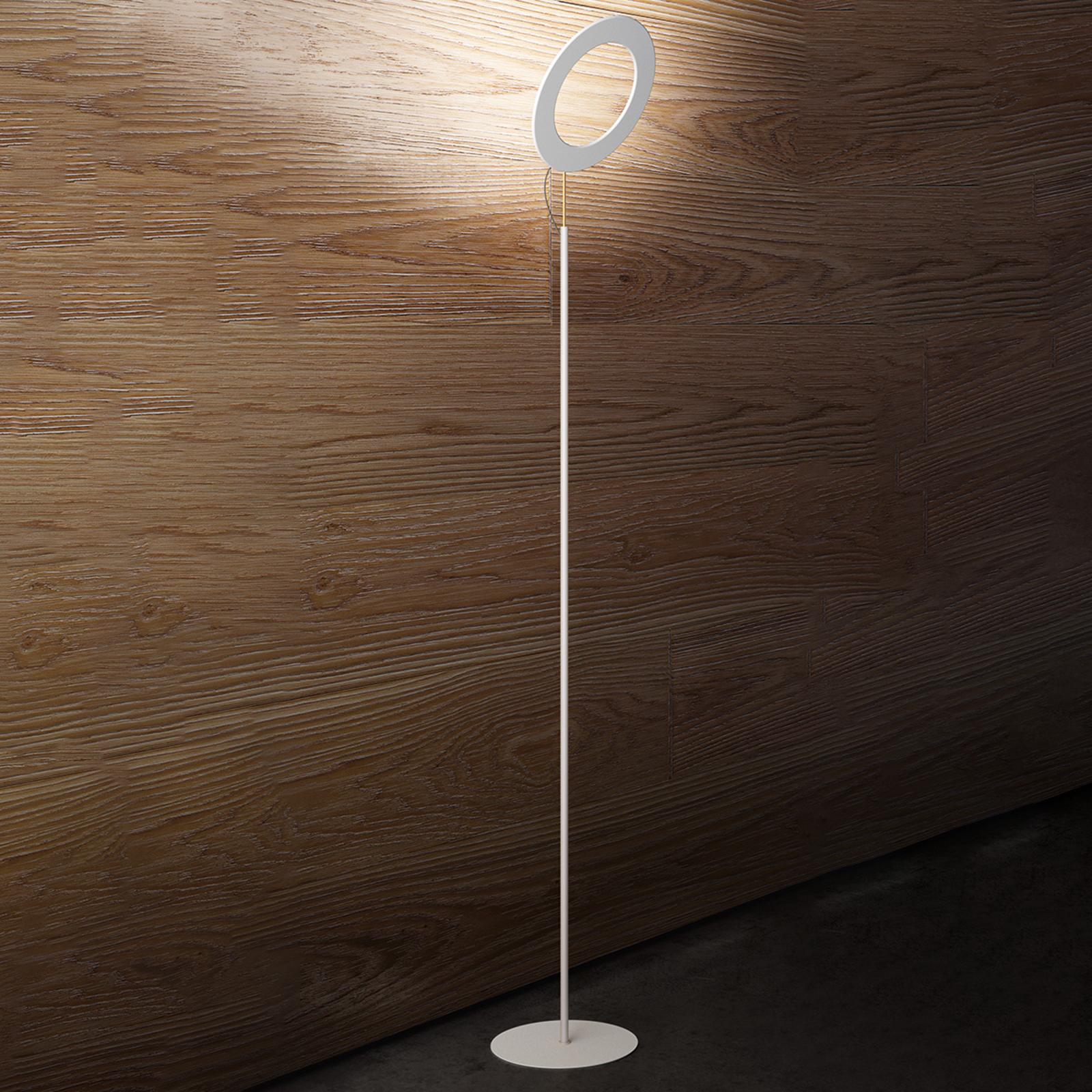 ICONE Vera ST -LED-lattiavalaisin, valkoinen