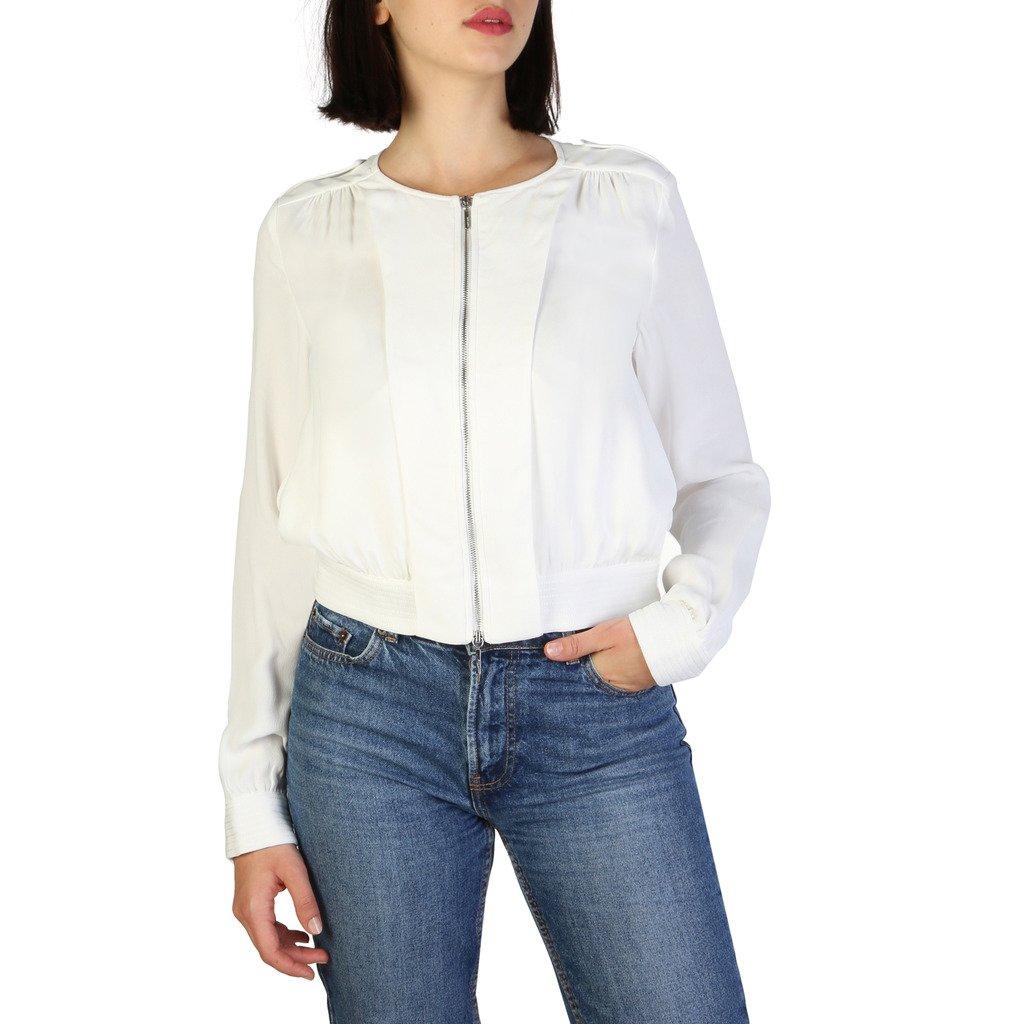 Armani Jeans Women's Blazer White 3Y5B54 5NYFZ - white 42 EU