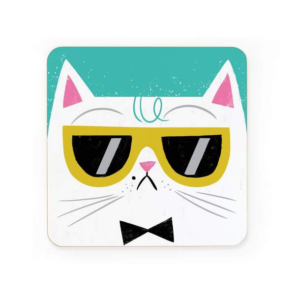 Cool Cat Coaster