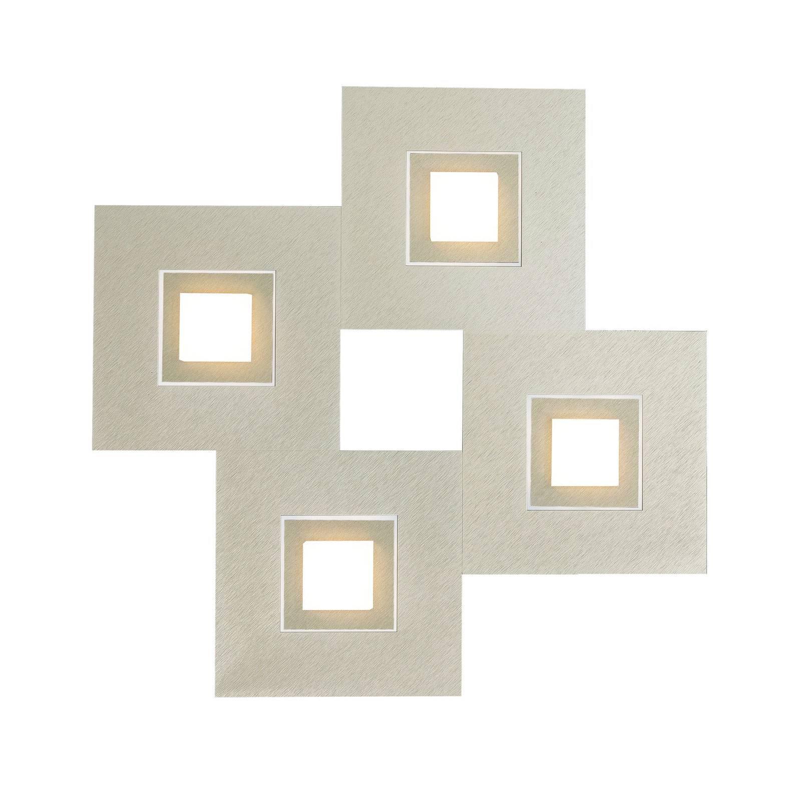 GROSSMANN Karree, 4 lysk., 50x50, perlemor, titan