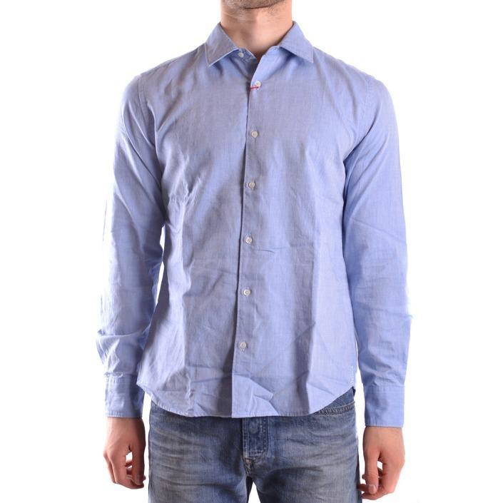 Altea Men's Shirt Blue 160803 - blue L
