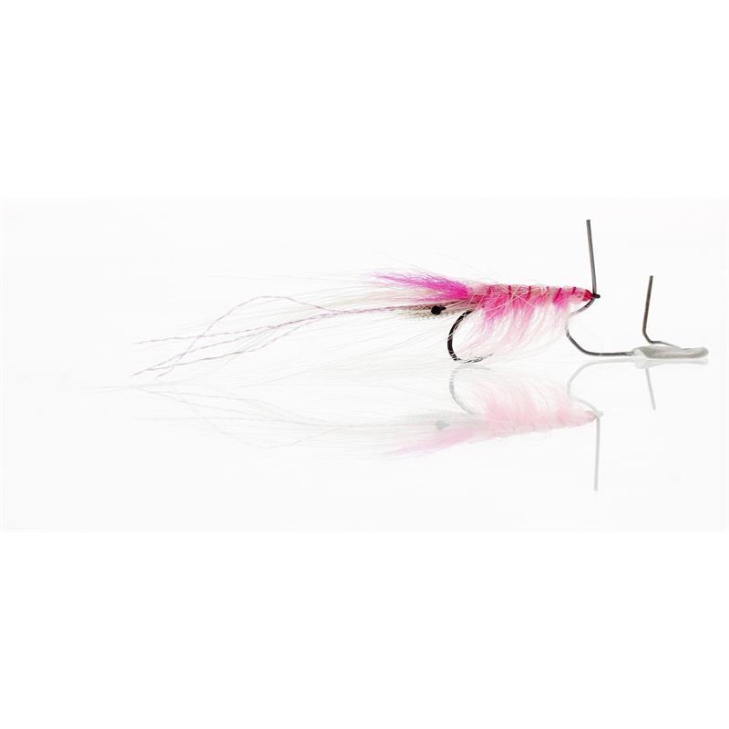 Pattegrisen Pink/White #8 Kjøp 12 fluer få gratis flueboks