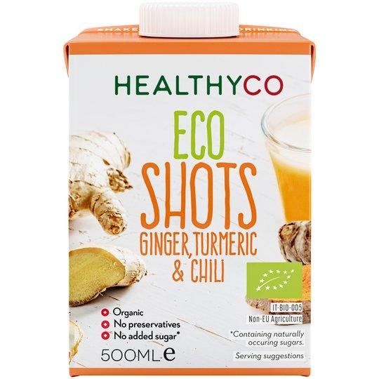 Eko Shots Ginger, Turmeric & Chili - 50% rabatt