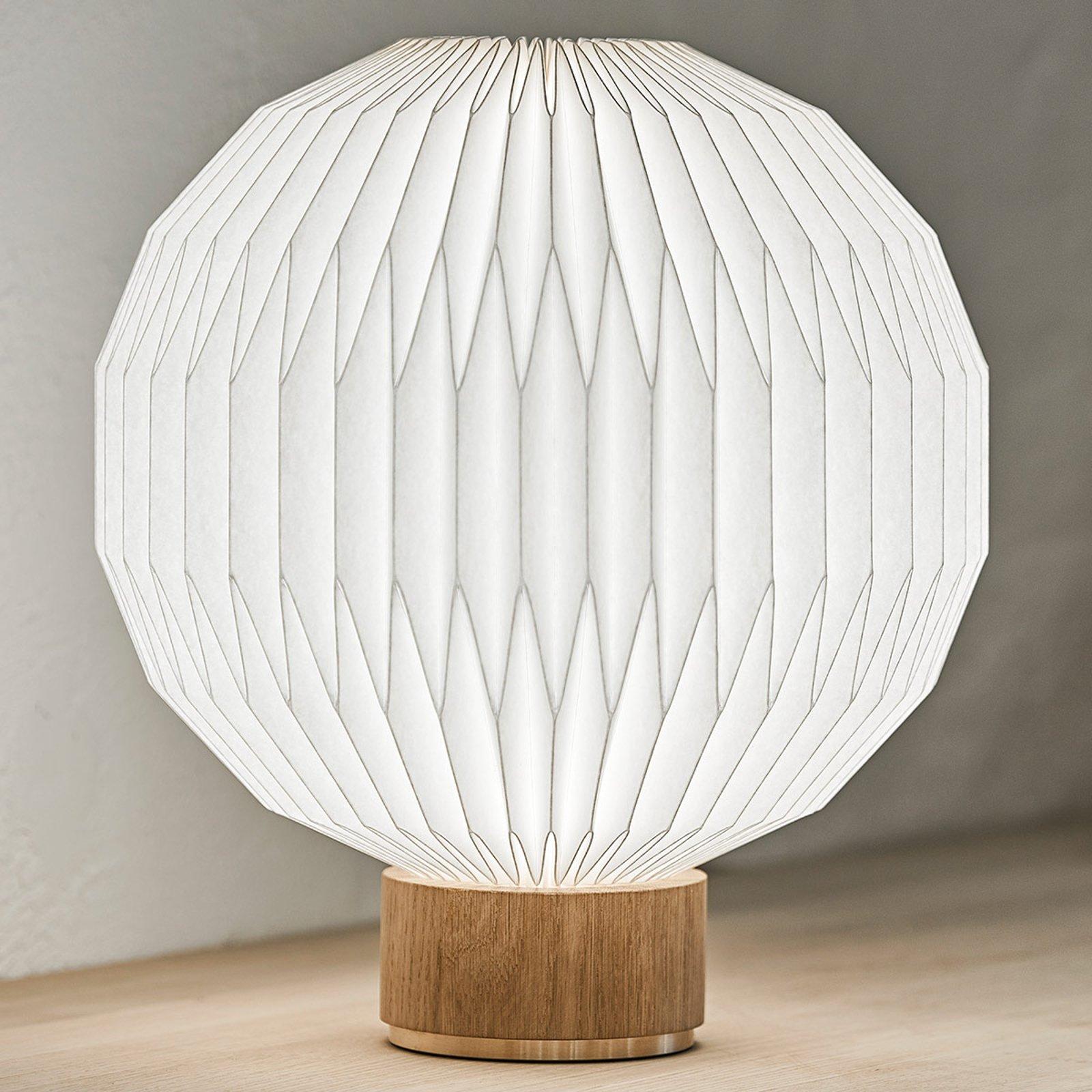 LE KLINT 375 bordlampe, plastskjerm 38 cm