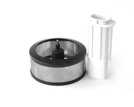 Magimix saftsentrifuge stål/hvit