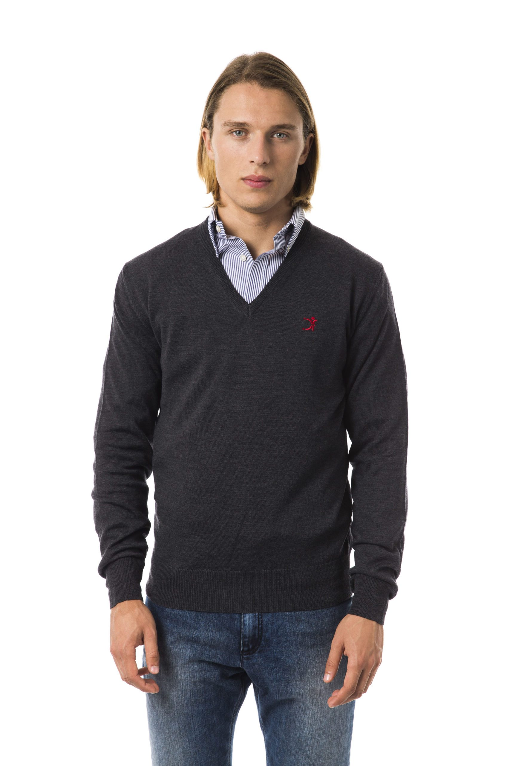 Uominitaliani Men's Antr Sweater Gray UO816733 - S