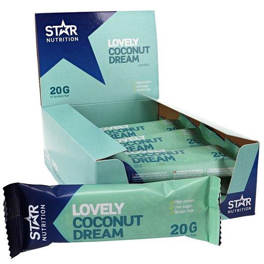 Proteinbars Coconut Dream 12-pack - 40% rabatt
