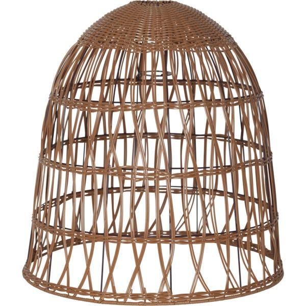 Star Trading Lampeskjerm Knute Natur 50cm