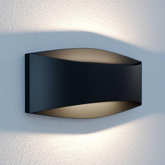 Lindby Evric -LED-ulkoseinävalaisin, 25,4 cm