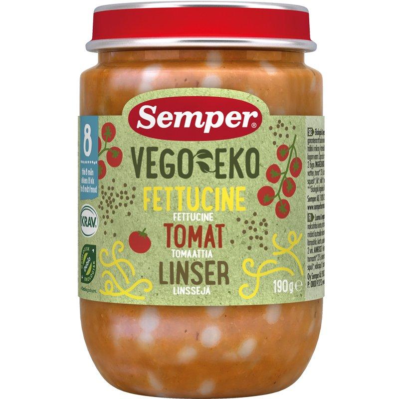 Luomu Linssi Tomaatti Pasta - 25% alennus