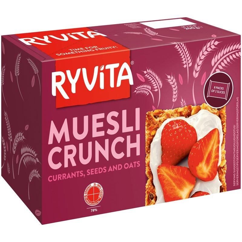 Knäckebröd Muesli Crunch - 23% rabatt