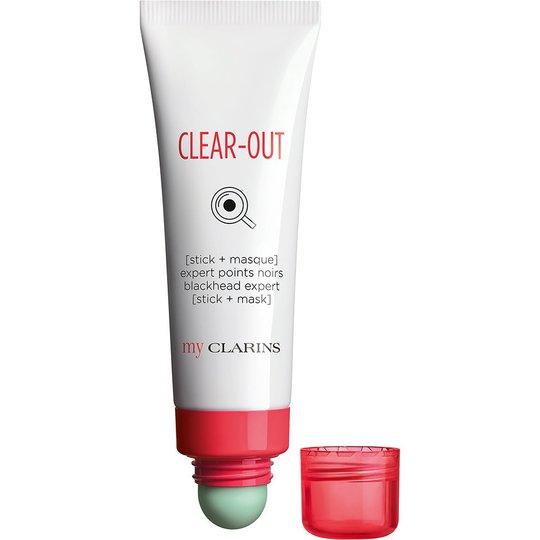 My Clarins Clear-Out Stick+Mask Blackhead Expert, 50 ml My Clarins Kasvonaamio