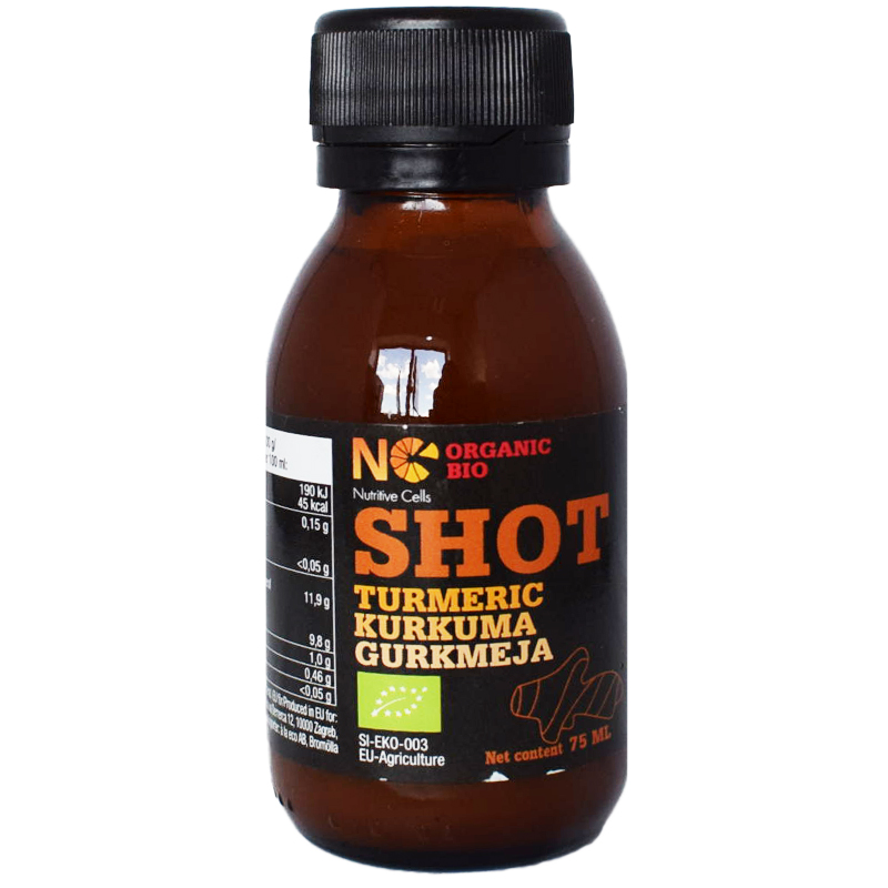 "Juice ""Shot"" Gurkmeja 75ml - 36% rabatt"