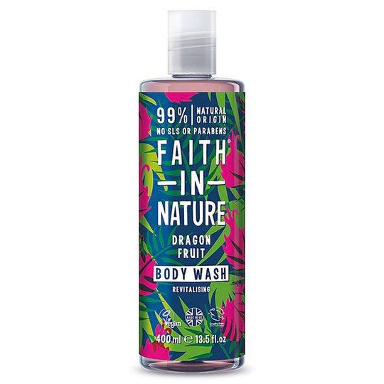 Faith in Nature Dragon Fruit Body Wash, 400 ml