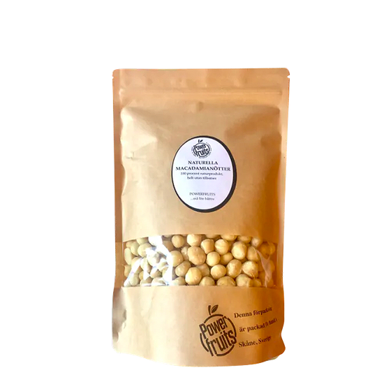 Naturella Macadamianötter Raw, 500 g