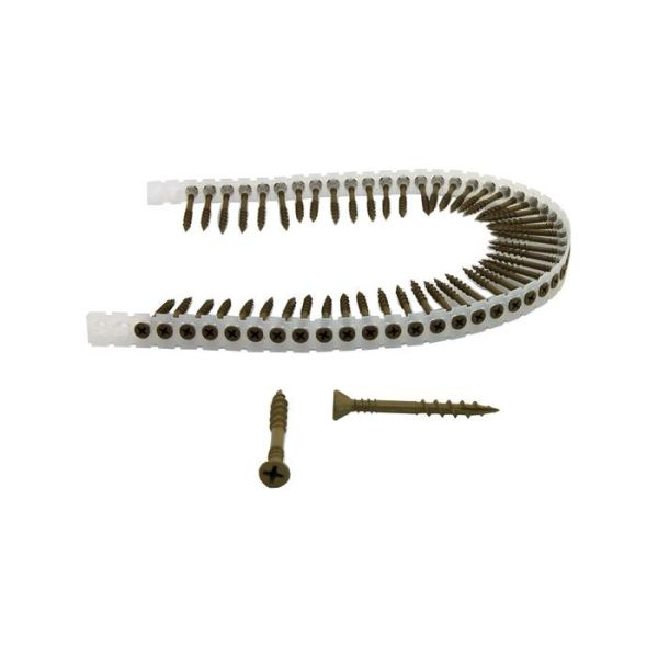 Senco 42R55MY Båndet sponplateskrue 4,4x55 mm 1000-pakning