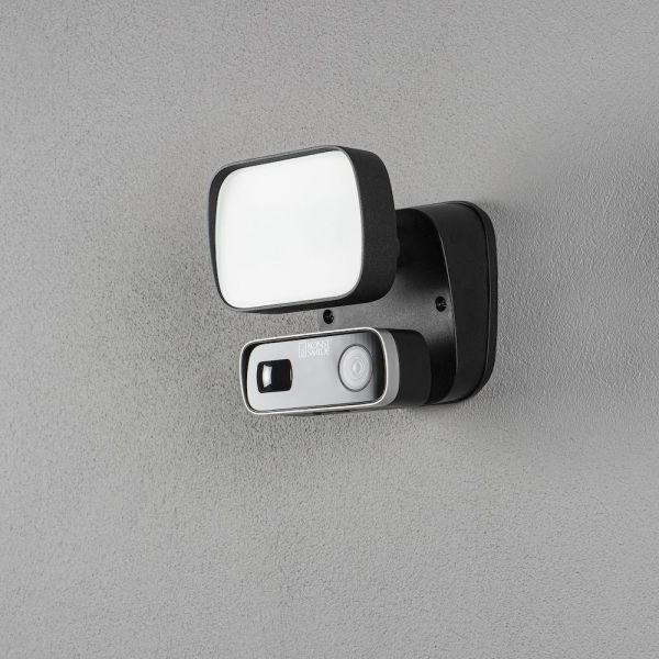 Konstsmide Smartlight Seinävalaisin 10 W, kamera, kaiutin ja mikrofoni