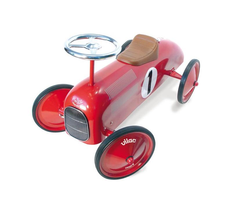 Vilac - Vintage Metal Car, Red (1049)
