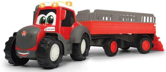 Dickie Toys Happy Massey Ferguson Dyretransport